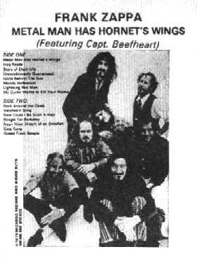 Captain Beefheart Discography Bootlegs Guest Apperance